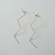 The Zig Zag Earring, GF