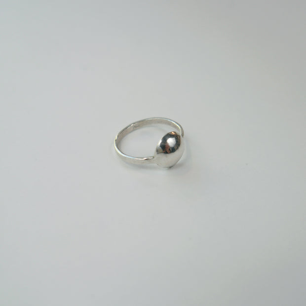 Dome Ring, Sterling Silver
