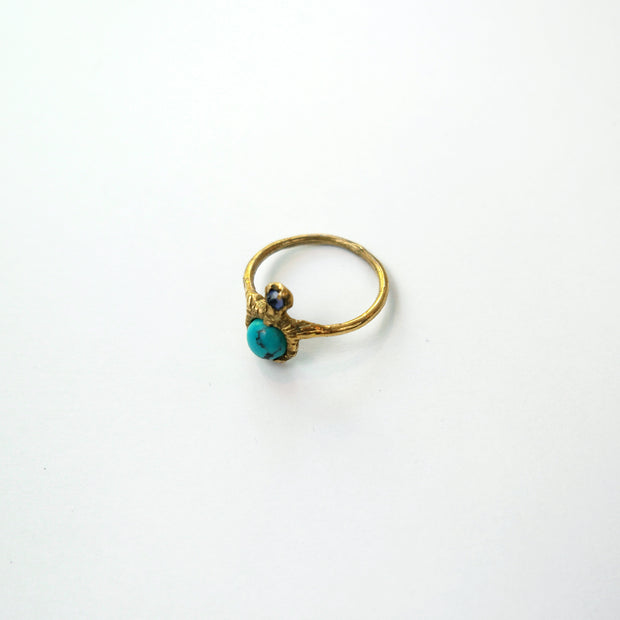 Mineral King Ring, Brass