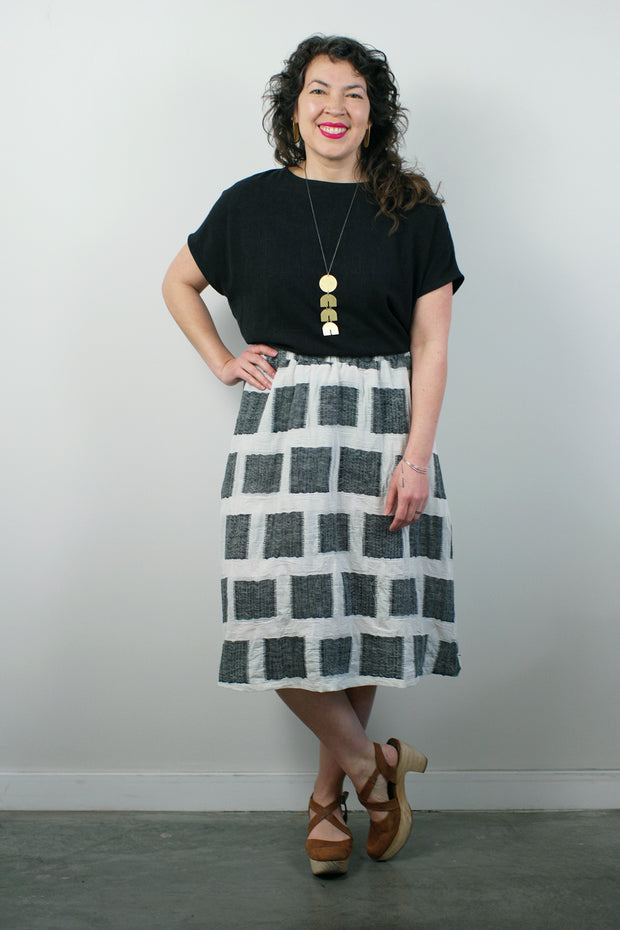 Lille Skirt, Square Weave