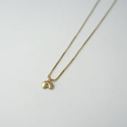 Gentle Necklace, Brass