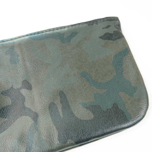 Large Zip Pouch Round Bottom, Camouflage
