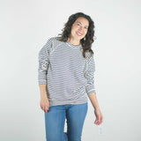 jungmaven _ made in the usa _ cotton and hemp _ velouria _ seattle _ french navy stripe sweatshirt 4.jpg