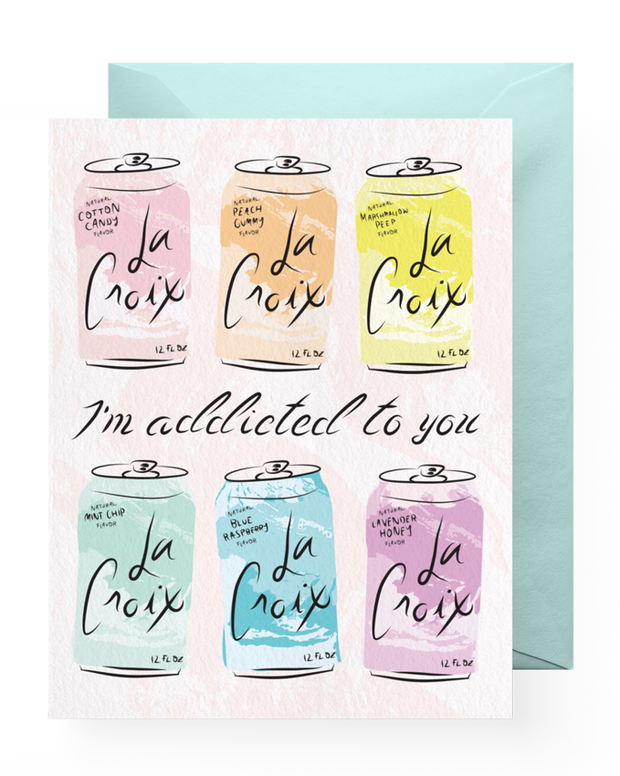 BD Greeting Cards, Addicted to You