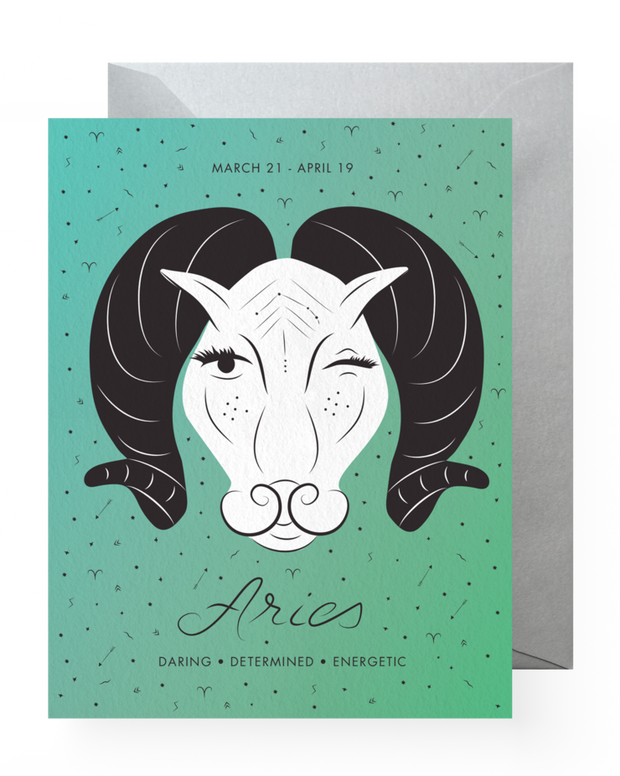 BD Greeting Cards, Aries