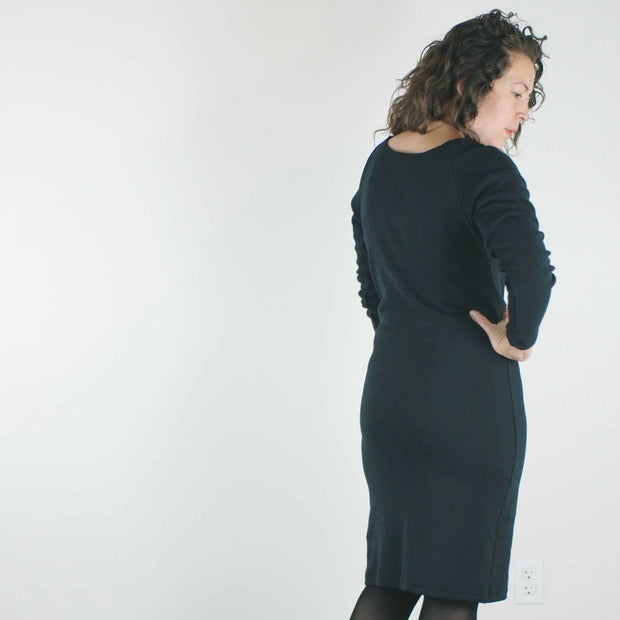 pillar clothing _ vancouver _ velouria _ seattle _ aspen dress _ black 3.jpg