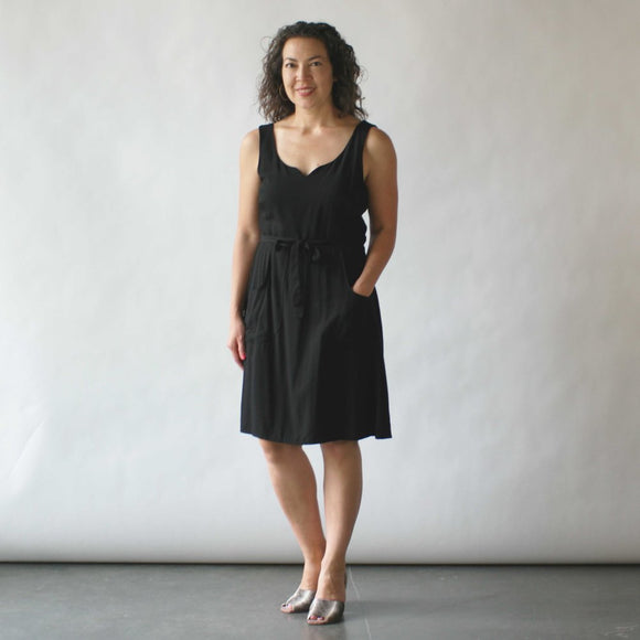 field day _ velouria _ seattle _ wrap dress black .jpg
