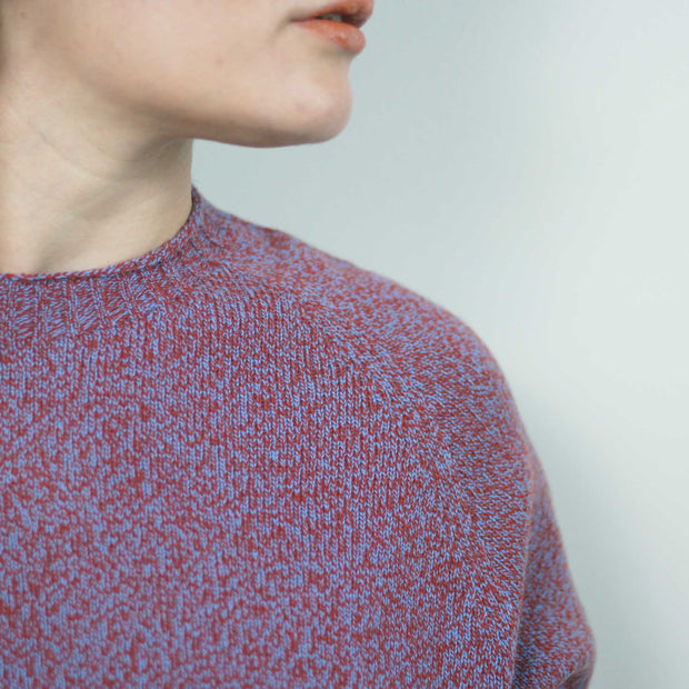Timeless Sweater, Red Mouline