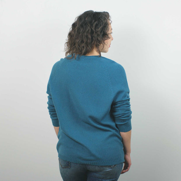 Timeless Sweater, Teal
