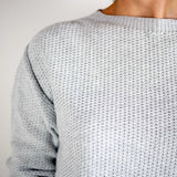 Cruz Crew Neck, Light Grey