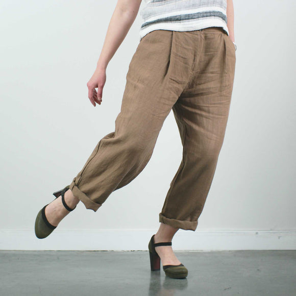 Ella Pants, Wheat