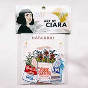 Sticker Pack, Nostalgic Foods