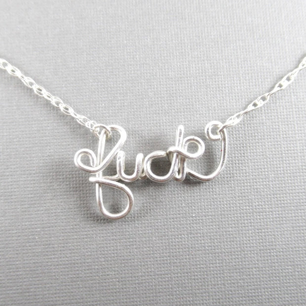 *Not Your Mamas Necklace, Sterling Silver
