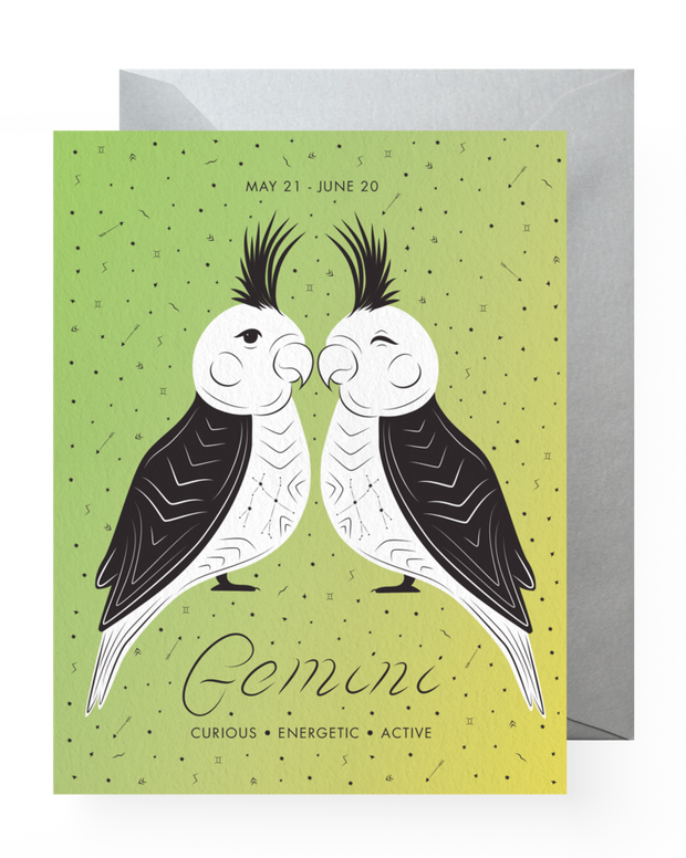 BD Greeting Cards, Gemini
