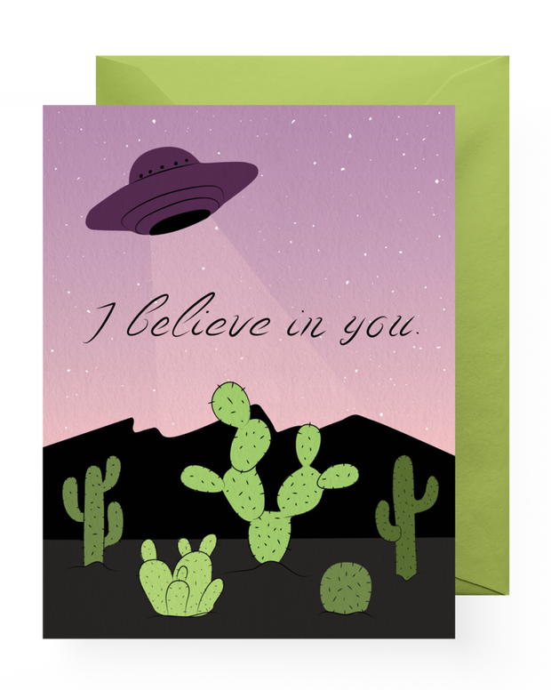 BD Greeting Cards, I Believe in You