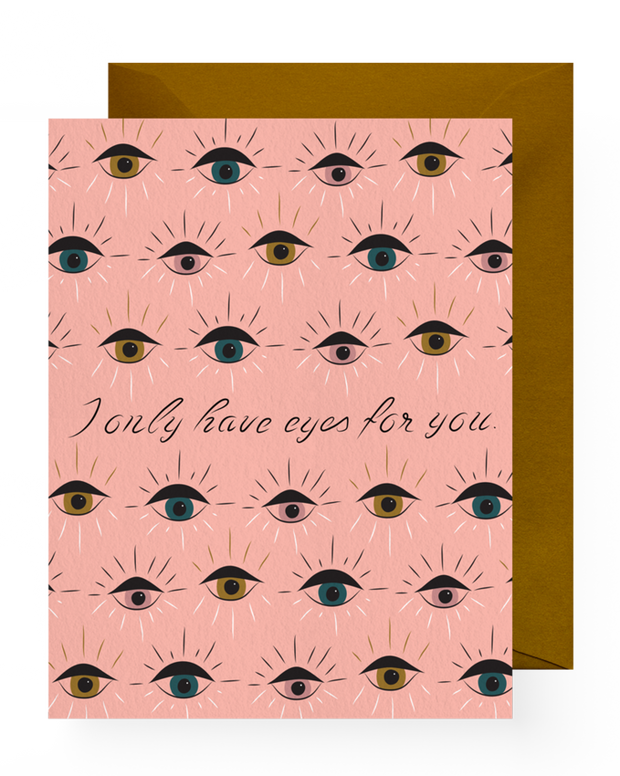 BD Greeting Cards, Eyes For You