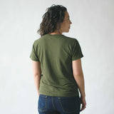 Lorel Crew T Shirt, Supply Green