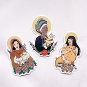 Sticker Pack, Cat Saints