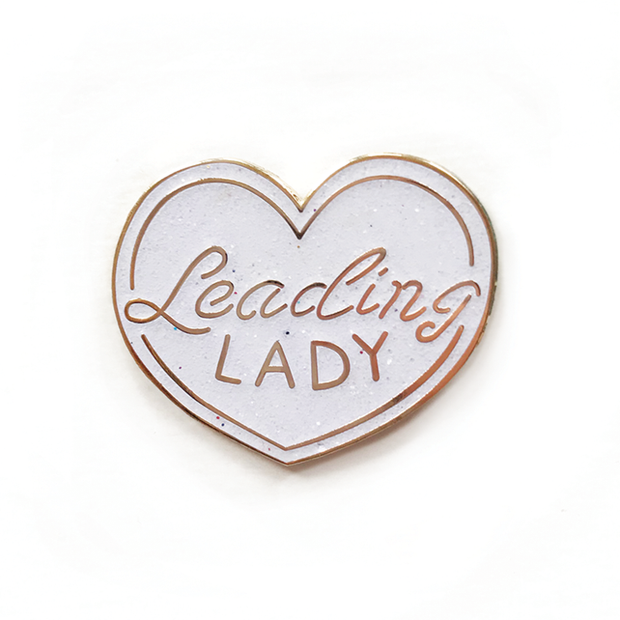*BD Enamel Pin, Leading Lady