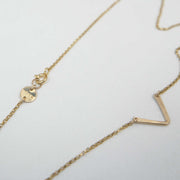 Little Friend Necklace, 14k Goldfill