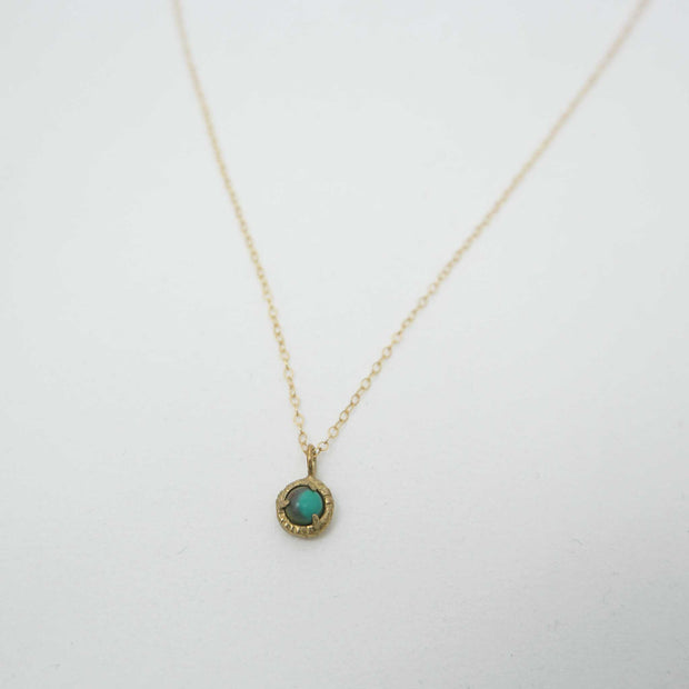 Jade Cove Necklace GF, Turquoise