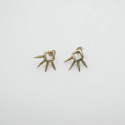 *Joshua Tree Earrings, Brass