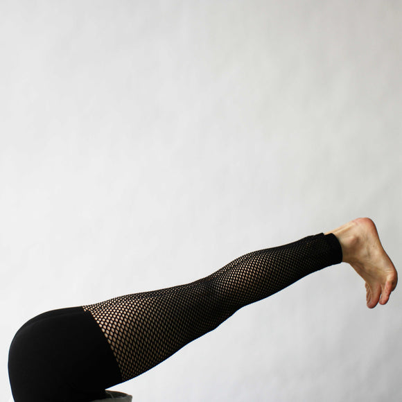 Net Leggings, Black