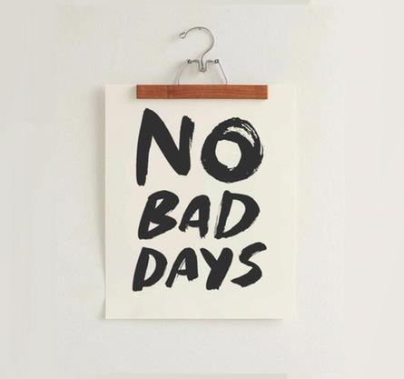 No Bad Days, *Black