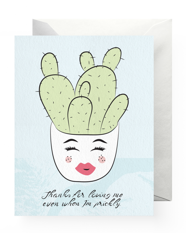 BD Greeting Cards, Prickly Love