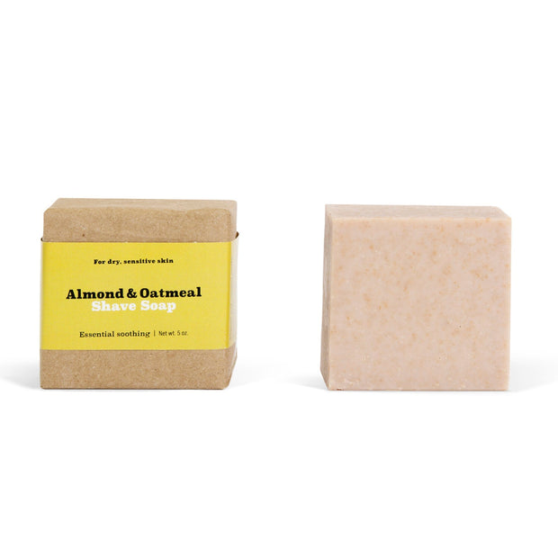 SA Shave Soap, Almond and Oatmeal