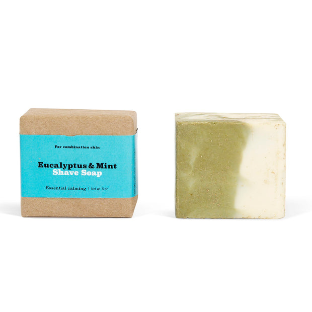 SA Shave Soap, Eucalyptus and Mint