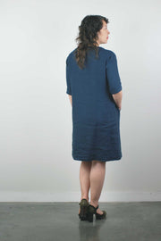 Nico Dress in SS Indigo