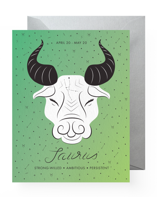 BD Greeting Cards, Taurus