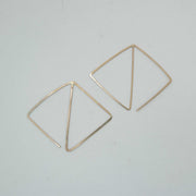 Psychic Earrings, 14k Goldfill