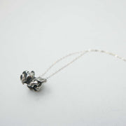Popcorn Necklace in Sterling Silver