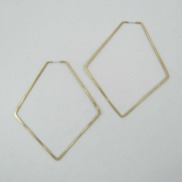 Anyo Hoops Brass, 2 Sizes
