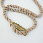 Patterns Necklace, Brass/Sand