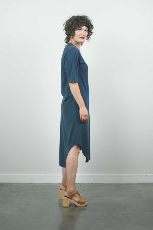 Palace Dress, Navy