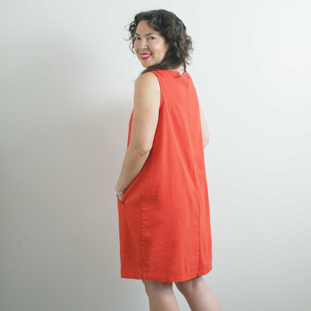 The New World Tank Dress, Poppy