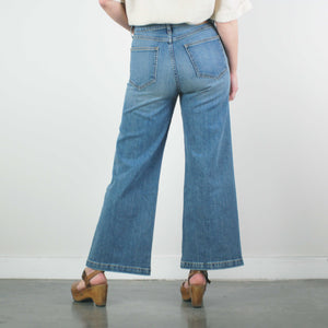 Susie High Rise Wide Leg Crop, Rise