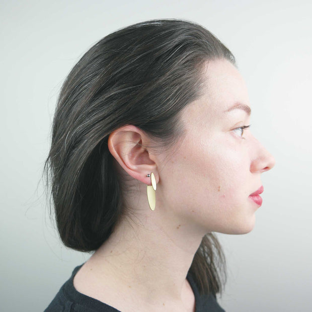 Ear Jacket, Oval