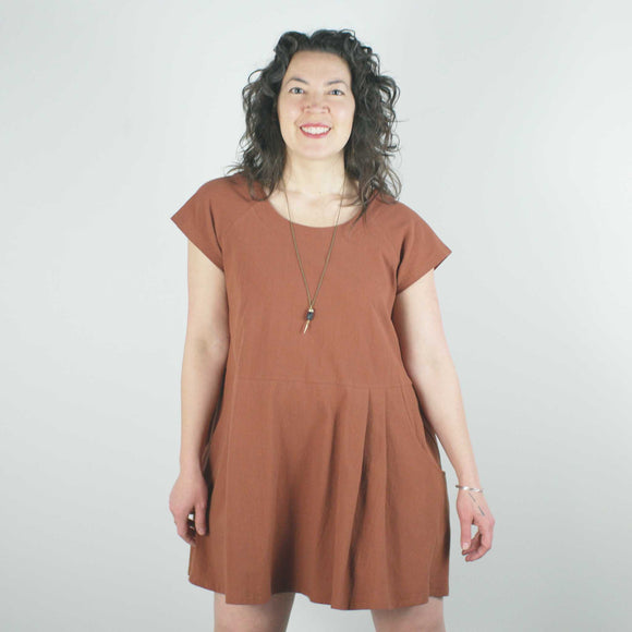 Cyclades Dress, Copper