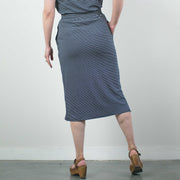 Eloisa Skirt, Navy Stripe