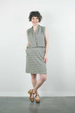 Lorie Dress, Limoncello Stripe