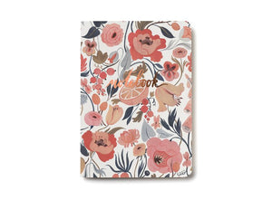 Notebook, Citrus Peach