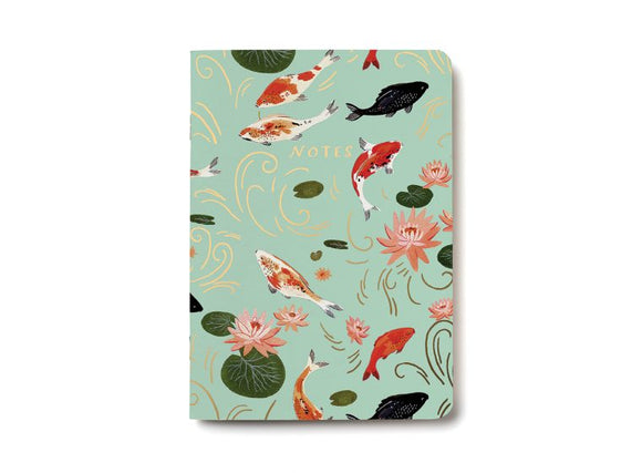 Notebook, Koi Fish