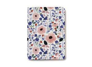 Notebook, Violet Birdy
