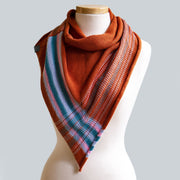 Stripe Cotton Scarf, Broken Hill