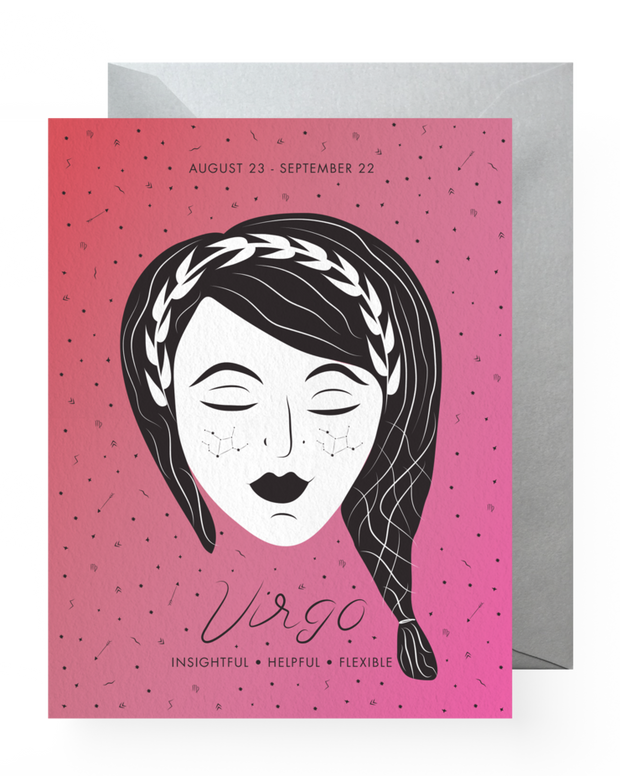 BD Greeting Cards, Virgo