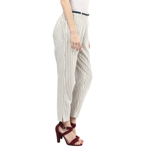 Stripe Printed Pant